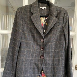 Cabi , Club Riding Wool Jacket Blazer , size 8